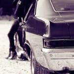Kati & Chevy Impala 2dht ´66